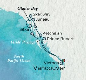 Singles Cruise - Balconies-Suites Grandeur of Alaska Map Singles Cruise Balconies-Suites Crystal Cruises Serenity 2019 World Cruise