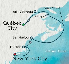 7 Seas Luxury Cruise - Autumn Escape Map Crystal Luxury Cruise Serenity World Cruise