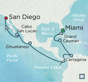 October 15-28 2023 - 13 Days - Crystal Luxury Symphony 2023