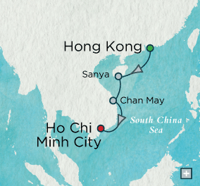 ALL SUITE CRUISE SHIPS - crystal cruises symphony 2015 Pagodas & Palaces: Crystal Getaways Map