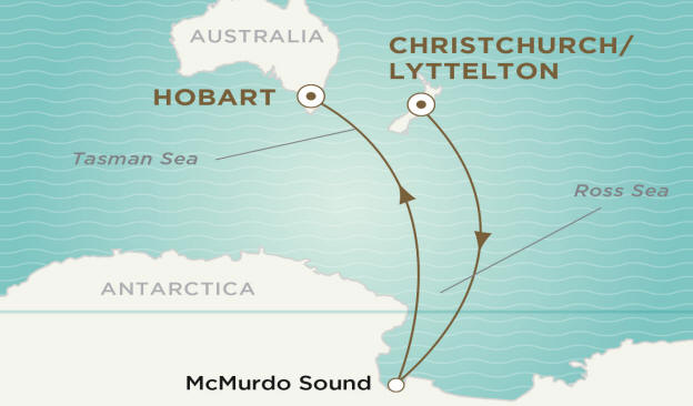 Crystal Luxury Cruise  Endeavor 2021 CHRISTCHURCH TO HOBART
