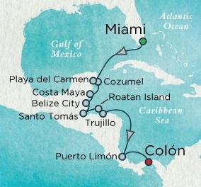 HONEYMOON CRUISES Crystal Cruises Serenity 2021 january 11-22 Miami, FL to Colon, Panama
