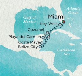 LUXURY CRUISE - Balconies-Suites Crystal Cruises Serenity 2020 January 3-10 2020 Miami, FL to Miami, FL