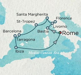 Crystal Luxury Cruise Serenity 2024 June 27 July 9 Rome (Civitavecchia), Italy to Rome (Civitavecchia), Italy