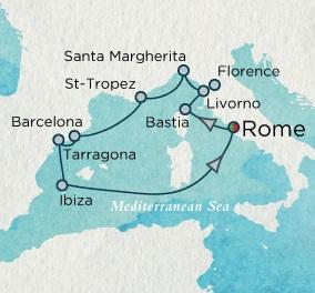 HONEYMOON CRUISES Crystal Cruises Serenity 2021 June 27 July 9 Rome (Civitavecchia), Italy to Rome (Civitavecchia), Italy