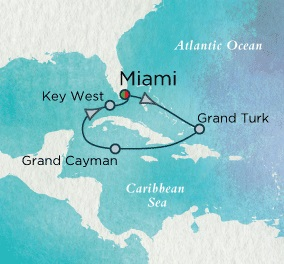 Singles Cruise - Balconies-Suites Crystal Cruises Serenity 2020 November 20-27 Miami, FL to Miami, FL