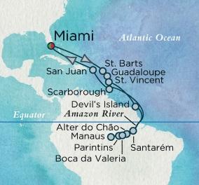 Singles Cruise - Balconies-Suites Crystal Cruises Serenity 2020 October 27 November 20 Miami, FL to Miami, FL