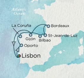 Crystal Cruises Symphony 2017 October 10-21 Lisbon, Portugal to Lisbon, Portugal