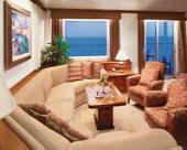 Luxury Cruises Single Crystal Cruises World Cruises Crystal Serenity 2008, Penthouse