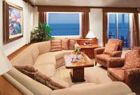 7 Seas Luxury Cruises - Crystal Cruises World Cruises Crystal Serenity, Penthouse