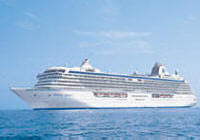 7 Seas Cruises Luxury Crystal Serenity Ship, Boat