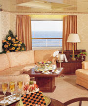 Charters, Groups, Penthouse, Balcony, Windows, Owner Suite, Veranda - Luxury Crystal Cruises Serenity: Baltic Sea Northern Europe, Mediterranean Sea, Trans Oceanic, Caribbean, Panama Canal & Mexican Riviera