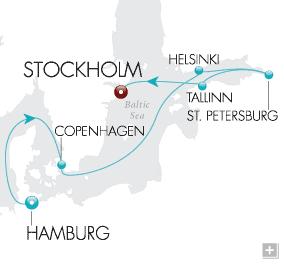 DEALS Baltic Explorer Map