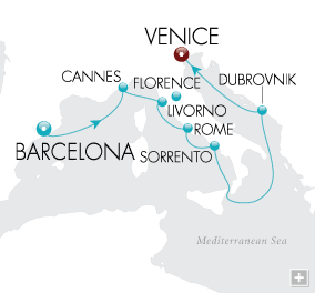 DEALS Capitals of Art & Architecture Map