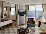 Penthouse Suite with Verandah Category PS - Deluxe Cruises 2017-2018-2019