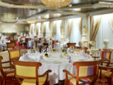 Prego - Charming and romantic, Prego brings the flavors of Italy to Crystal. A seasonally changing Valentino at Prego menu features signature dishes such as Scaloppine Di Vitello Servite Con Capelli D'angelo and Linguine Con Aragosta E Zucchini, along with wines that are served at Piero Selvaggio's revered Los Angeles and Las Vegas restaurants, Valentino. Valentino is considered by many to be among the finest Italian restaurants in the country. - Deluxe Cruises 2021-2022-2023-2024