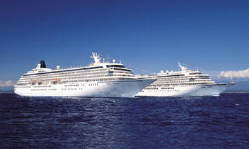 7 Seas LUXURY Crystal Cruise Crystal Harmony Crystal Symphony Crystal Serenity October
