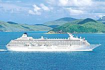 7 Seas Cruises Luxury Crystal Symphony 2010