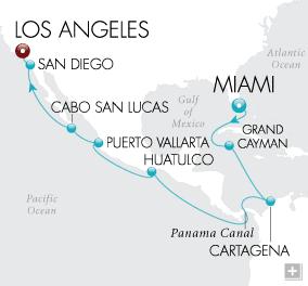 DEALS Tale of Two Seas Map