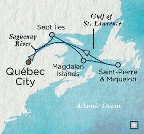 Quebec City, QC, Canada to Quebec City, QC, Canada - 7 Days Crystal Luxury Cruises Serenity 2020