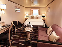Cunard Queen Mary 2 QM2 Stateroom Image