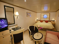 Cunard Cruise Line QE, QM, QV, Queen Victoria, Queen Mary 2, Queen Elizabeth Britannia Oceanview Stateroom Category C2 - Deluxe Cruises