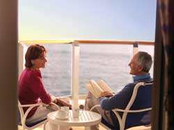 Single-Solo Balconies/Suites Cunard Cruise Queen Mary 2 qm 2 A3 Britannia Balcony Stateroom