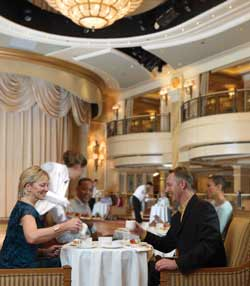 Single-Solo Balconies/Suites Cunard Cruise Queen Mary 2 qm 2 Afternoon Tea