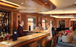 7 Seas LUXURY Cruise Cunard Cruise Queen Mary 2 qm 2 Chart Room