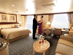 7 Seas LUXURY Cruise Cunard Cruise Queen Mary 2 qm 2 Q3 Penthouse