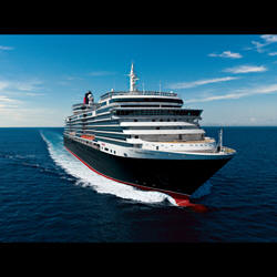 Luxury Cunnard Queen Mary 2 qm 2 Queen Victoria Exterior