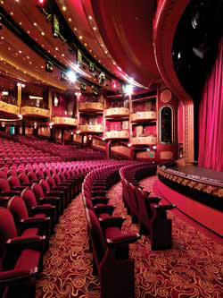 Cunard Cruise Queen Mary 2 qm 2 Royal Court Theatre