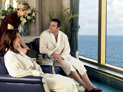 7 Seas LUXURY Cruise Cunard Cruise Queen Mary 2 qm 2 Royal Spa & Fitness Centre