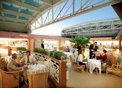 7 Seas LUXURY Cruise Cunard Cruise Queen Mary 2 qm 2 Winter Garden
