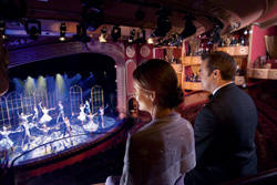 7 Seas LUXURY Cruise Cunard Cruise Queen Mary 2 qm 2 Royal Court Theatre