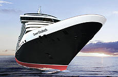 Cunard Cruise Line Queen Elizabeth QE - Deluxe Cruises Groups / Charters 2016-2017-2018