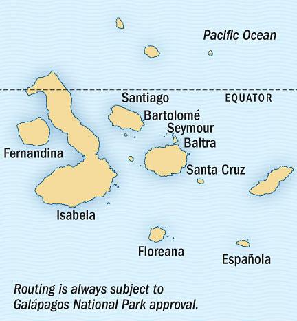SINGLE Cruise - Balconies-Suites Lindblad National Geographic NG CRUISE Islander October 31 November 9 2015 Guayaquil, Ecuador to Guayaquil, Ecuador