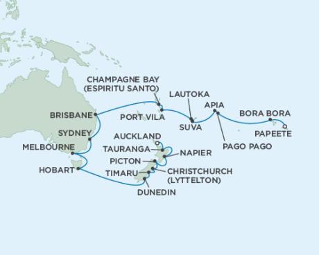 Cruises Seven Seas Mariner January 6 February 4 2015 - 30 Days