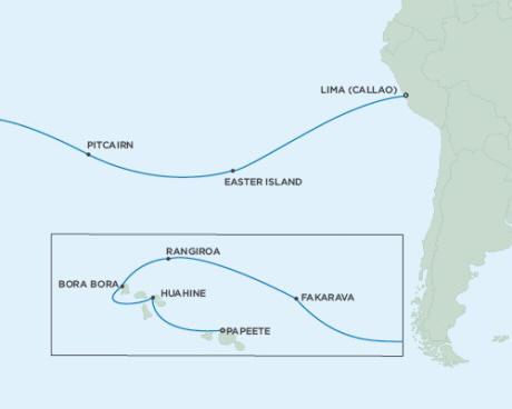 Cruises Seven Seas Mariner February 14 March 2 2015 - 16 Days