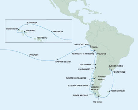 ALL SUITE CRUISE SHIPS - Cruises Seven Seas Mariner February 14 March 22 2015 - 36 Days
