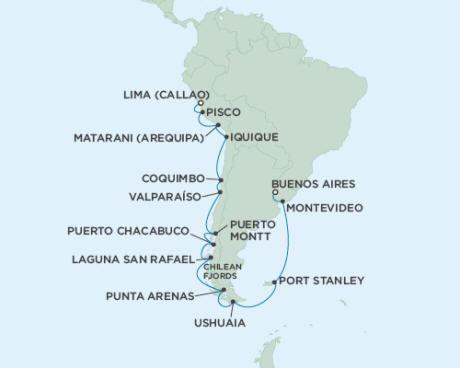 Cruises Seven Seas Mariner March 2-22 2015 - 20 Days