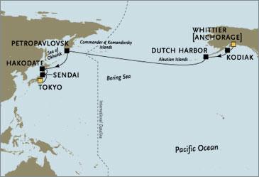 Croisieres de luxe - Seven Seas Mariner Whittier Tokyo