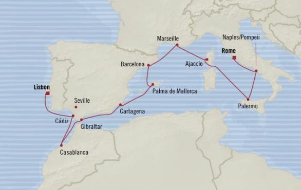 Oceania Cruises Riviera October 16-28 2020