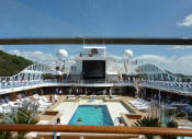 Single-Solo Balconies-Suites Oceania CRUISE Pool Single-Solo  Ship