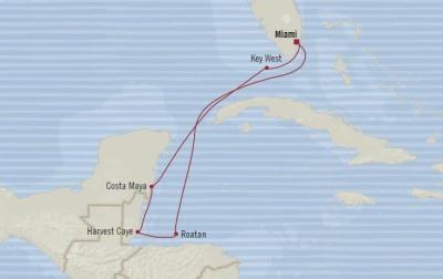Singles Cruise - Balconies-Suites Oceania Marina February 1-8 2020 Cruises Miami, FL, United States to Miami, FL, United States