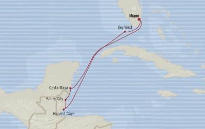 Deluxe Honeymoon Cruises Oceania Marina February 18-25 2021 Miami, FL, United States to Miami, FL, United States