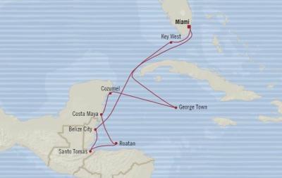 SINGLE Cruise - Balconies-Suites Oceania Marina February 8-18 2020 CRUISE Miami, FL, United States to Miami, FL, United States