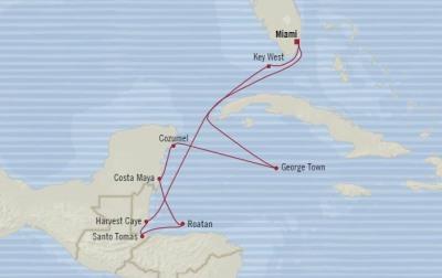Singles Cruise - Balconies-Suites Oceania Marina January 22 February 1 2020 Cruises Miami, FL, United States to Miami, FL, United States