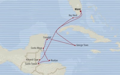 Singles Cruise - Balconies-Suites Oceania Marina March 21-31 2020 Cruises Miami, FL, United States to Miami, FL, United States