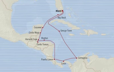 Singles Cruise - Balconies-Suites Oceania Marina March 7-21 2020 Cruises Miami, FL, United States to Miami, FL, United States